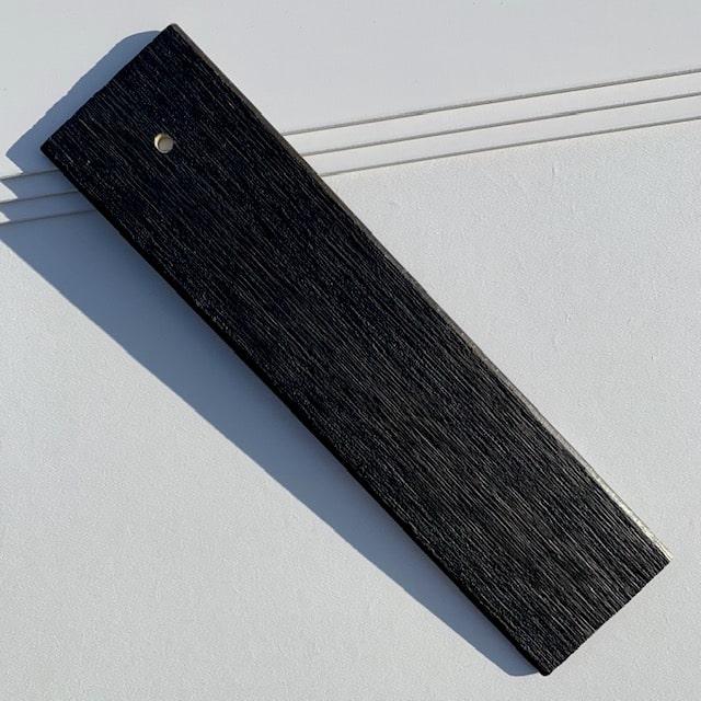 Zwart houtnerf